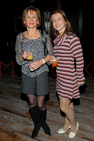 NEW YORK, NY - NOVEMBER 04:  Victoria Gulevich and Elena Kornyeyeva attend Grand Opening of Rokk City - New York on November 4, 2011 in New York City.  (Photo by Steve Mack/WireImage for Rokk City) *** Local Caption *** Victoria Gulevich; Elena Kornyeyeva