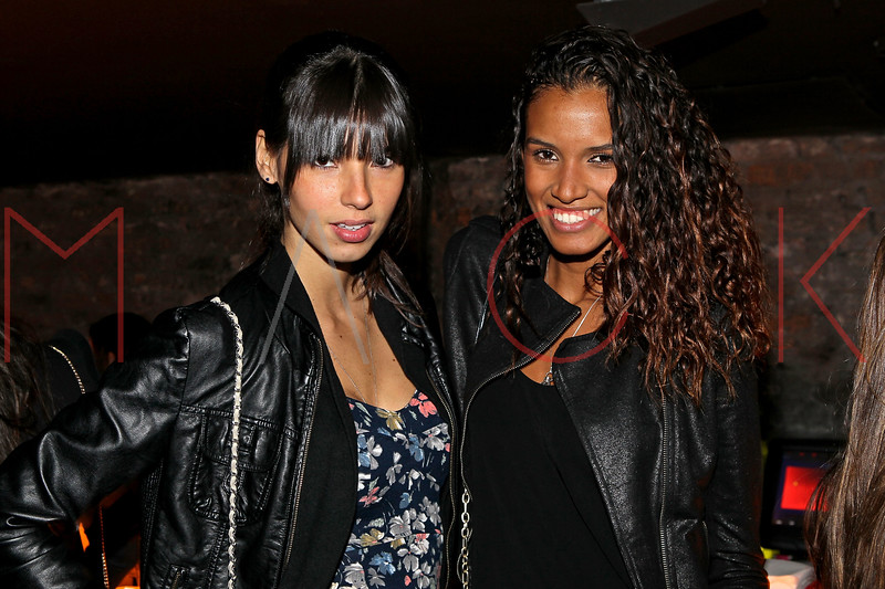 NEW YORK, NY - NOVEMBER 04:  Thais Martins and Lays Silva attends Grand Opening of Rokk City - New York on November 4, 2011 in New York City.  (Photo by Steve Mack/WireImage for Rokk City) *** Local Caption *** Thais Martins; Lays Silva