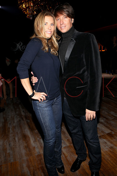 NEW YORK, NY - NOVEMBER 04:  Rokk City club co-owner Robert Watman (R) and Meredith Miers attend Grand Opening of Rokk City - New York on November 4, 2011 in New York City.  (Photo by Steve Mack/WireImage for Rokk City) *** Local Caption *** Meredith Miers; Robert Watman