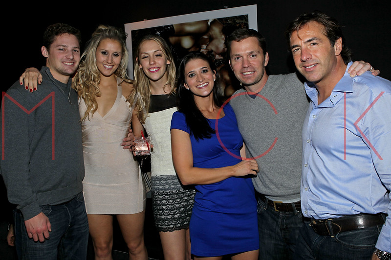 NEW YORK, NY - NOVEMBER 04:  Phil Gosselin, Molly Millard, Caroline Nuckolls, Jen Sheridan, Win sheridan and Jay Franks attend Grand Opening of Rokk City - New York on November 4, 2011 in New York City.  (Photo by Steve Mack/WireImage for Rokk City) *** Local Caption *** Phil Gosselin; Molly Millard; Caroline Nuckolls; Jen Sheridan; Win sheridan; Jay Franks