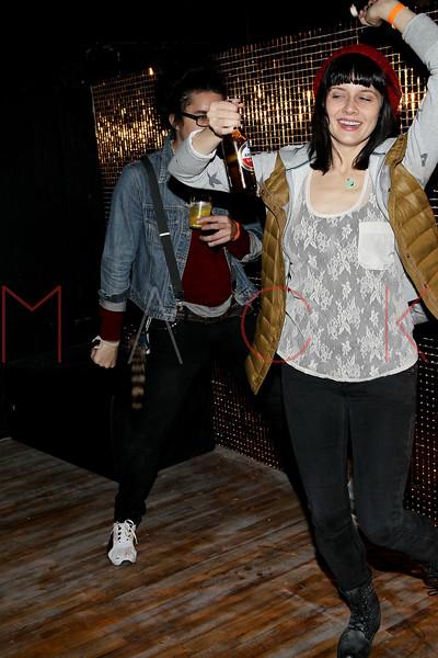 NEW YORK, NY - NOVEMBER 04:  Matt Devine and Jennifer Bowles attend Grand Opening of Rokk City - New York on November 4, 2011 in New York City.  (Photo by Steve Mack/WireImage for Rokk City) *** Local Caption *** Matt Devine; Jennifer Bowles