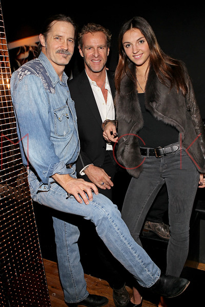 NEW YORK, NY - NOVEMBER 04:  Karl Rudisill of Duggal Imaging, Steven Lion and Gabriele attend Grand Opening of Rokk City - New York on November 4, 2011 in New York City.  (Photo by Steve Mack/WireImage for Rokk City) *** Local Caption *** Karl Rudisill; Steven Lion; Gabriele