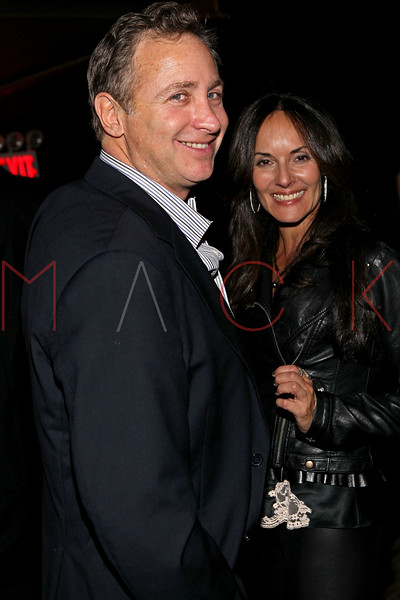 NEW YORK, NY - NOVEMBER 04:  Larry and Erica Jaeger attend Grand Opening of Rokk City - New York on November 4, 2011 in New York City.  (Photo by Steve Mack/WireImage for Rokk City) *** Local Caption *** Larry Jaeger; Erica Jaeger