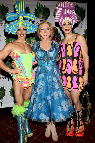 NEW YORK, NY - OCTOBER 28:  Nick Adams, Tony Scheldon and Will Swenson attend 16th Annual Bette Midler's New York Restoration Project's Hulaween at The Waldorf=Astoria on October 28, 2011 in New York City.  (Photo by Steve Mack/S.D. Mack Pictures) *** Local Caption *** Nick Adams; Tony Scheldon; Will Swenson