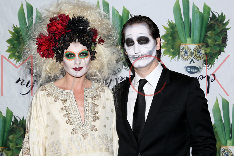 NEW YORK, NY - OCTOBER 28:  Debra Messing and Daniel Zelman attend 16th Annual Bette Midler's New York Restoration Project's Hulaween at The Waldorf=Astoria on October 28, 2011 in New York City.  (Photo by Steve Mack/S.D. Mack Pictures) *** Local Caption *** Debra Messing; Daniel Zelman