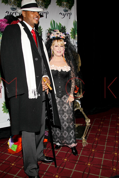 NEW YORK, NY - OCTOBER 28:  Carmelo Anthony and Bette Midler attend 16th Annual Bette Midler's New York Restoration Project's Hulaween at The Waldorf=Astoria on October 28, 2011 in New York City.  (Photo by Steve Mack/S.D. Mack Pictures) *** Local Caption *** Carmelo Anthony; Bette Midler