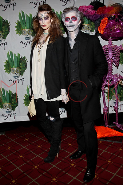 NEW YORK, NY - OCTOBER 28:  Elettra Wiedemann (L) attends 16th Annual Bette Midler's New York Restoration Project's Hulaween at The Waldorf=Astoria on October 28, 2011 in New York City.  (Photo by Steve Mack/S.D. Mack Pictures) *** Local Caption *** Elettra Wiedemann