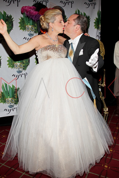 NEW YORK, NY - OCTOBER 28:  James L. Nederlander and wife Margo McNabb attend 16th Annual Bette Midler's New York Restoration Project's Hulaween at The Waldorf=Astoria on October 28, 2011 in New York City.  (Photo by Steve Mack/S.D. Mack Pictures) *** Local Caption *** James L. Nederlander; Margo McNabb