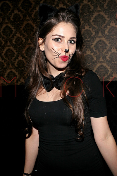 NEW YORK, NY - OCTOBER 29:  Sarah Tona attends Ethan Zohn And Jenna Morasca's 2011 Halloween Costume Party at Bathtub Gin on October 29, 2011 in New York, United States.  (Photo by Steve Mack/S.D. Mack Pictures) *** Local Caption *** Sarah Tona