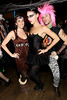 NEW YORK, NY - OCTOBER 29:  Sarah Gray and Eliza Orlins attend Ethan Zohn And Jenna Morasca's 2011 Halloween Costume Party at Bathtub Gin on October 29, 2011 in New York, United States.  (Photo by Steve Mack/S.D. Mack Pictures) *** Local Caption *** Sarah Gray; Eliza Orlins
