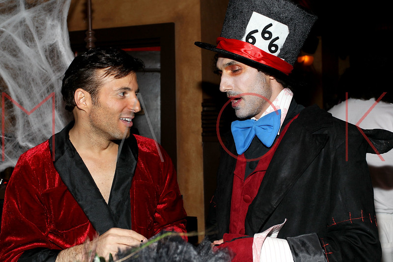 NEW YORK, NY - OCTOBER 29:  Jordan Lippner and Ethan Zohn attend Ethan Zohn And Jenna Morasca's 2011 Halloween Costume Party at Bathtub Gin on October 29, 2011 in New York, United States.  (Photo by Steve Mack/S.D. Mack Pictures) *** Local Caption *** Jordan Lippner; Ethan Zohn