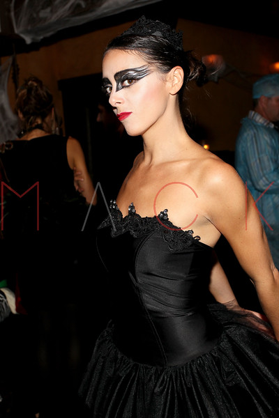 NEW YORK, NY - OCTOBER 29:  Eliza Orlins attends Ethan Zohn And Jenna Morasca's 2011 Halloween Costume Party at Bathtub Gin on October 29, 2011 in New York, United States.  (Photo by Steve Mack/S.D. Mack Pictures) *** Local Caption *** Eliza Orlins