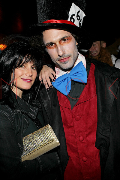 NEW YORK, NY - OCTOBER 29:  Ali Mroczkowski and Ethan Zohn attend Ethan Zohn And Jenna Morasca's 2011 Halloween Costume Party at Bathtub Gin on October 29, 2011 in New York, United States.  (Photo by Steve Mack/S.D. Mack Pictures) *** Local Caption *** Ali Mroczkowski; Ethan Zohn