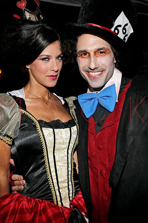 NEW YORK, NY - OCTOBER 29:  Ethan Zohn And Jenna Morasca's 2011 Halloween Costume Party at Bathtub Gin on October 29, 2011 in New York, United States.