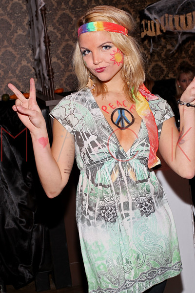 NEW YORK, NY - OCTOBER 29:  Andrea Boehlke attends Ethan Zohn And Jenna Morasca's 2011 Halloween Costume Party at Bathtub Gin on October 29, 2011 in New York, United States.  (Photo by Steve Mack/S.D. Mack Pictures) *** Local Caption *** Andrea Boehlke