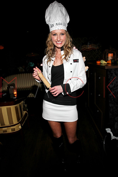 NEW YORK, NY - OCTOBER 29:  Courtney Dawson attends Ethan Zohn And Jenna Morasca's 2011 Halloween Costume Party at Bathtub Gin on October 29, 2011 in New York, United States.  (Photo by Steve Mack/S.D. Mack Pictures) *** Local Caption *** Courtney Dawson