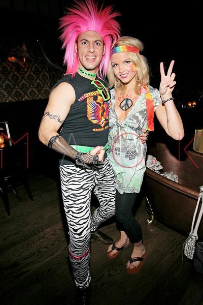 NEW YORK, NY - OCTOBER 29:  Nick Colacchio and Andrea Boehlke attend Ethan Zohn And Jenna Morasca's 2011 Halloween Costume Party at Bathtub Gin on October 29, 2011 in New York, United States.  (Photo by Steve Mack/S.D. Mack Pictures) *** Local Caption *** Nick Colacchio; Andrea Boehlke