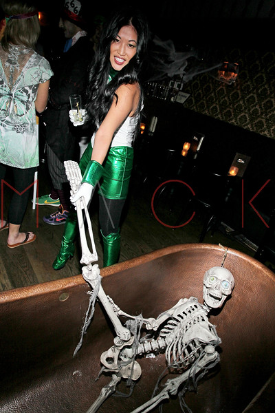 NEW YORK, NY - OCTOBER 29:  Stacey Kimball attends Ethan Zohn And Jenna Morasca's 2011 Halloween Costume Party at Bathtub Gin on October 29, 2011 in New York, United States.  (Photo by Steve Mack/S.D. Mack Pictures) *** Local Caption *** Stacey Kimball