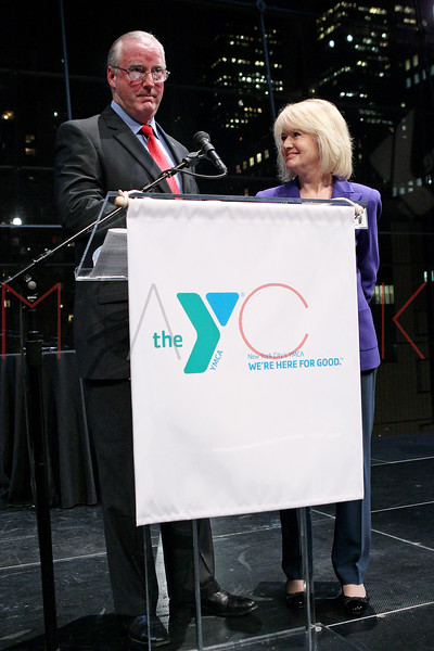 NEW YORK, NY - OCTOBER 24:  President and CEO of The YMCA of Greater New York Jack Lund and Consuelo Mack attend the 2011 YMCA of Greater New York's Arts & Letters auction at Frederick P. Rose Hall, Jazz at Lincoln Center on October 24, 2011 in New York City.  (Photo by Steve Mack/S.D. Mack Pictures) *** Local Caption *** Jack Lund; Consuelo Mack