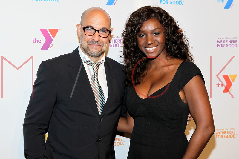 NEW YORK, NY - OCTOBER 24:  Stanley Tucci and Saycon Sengbloh attend the 2011 YMCA of Greater New York's Arts & Letters auction at Frederick P. Rose Hall, Jazz at Lincoln Center on October 24, 2011 in New York City.  (Photo by Steve Mack/S.D. Mack Pictures) *** Local Caption *** Stanley Tucci; Saycon Sengbloh
