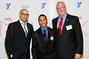 NEW YORK, NY - OCTOBER 24:  Stanley Tucci, Juan Escobar and President and CEO of The YMCA of Greater New York Jack Lund attend the 2011 YMCA of Greater New York's Arts & Letters auction at Frederick P. Rose Hall, Jazz at Lincoln Center on October 24, 2011 in New York City.  (Photo by Steve Mack/S.D. Mack Pictures) *** Local Caption *** Stanley Tucci; Juan Escobar; Jack Lund