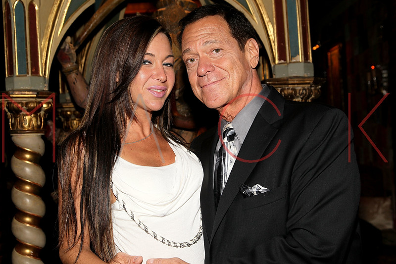 ATLANTIC CITY, NJ - OCTOBER 16:  Joe Piscopo (R) and Helene Vaspoli attend the 2011 Atlantic City Awards Ceremony in The Foundation Room in Showboat Atlantic City on October 16, 2011 in Atlantic City, New Jersey.  (Photo by Steve Mack/S.D. Mack Pictures) *** Local Caption *** Helene Vaspoli; Joe Piscopo