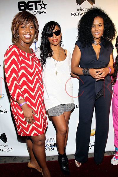NEW YORK, NY - OCTOBER 13:  Brooke Ellis, Lil Mama and Beverly Bond attend the Black Girl Rock! & Soul concert at S.O.B.'s on October 13, 2011 in New York City.  (Photo by Steve Mack/S.D. Mack Pictures) *** Local Caption *** Brooke Ellis; Lil Mama; Beverly Bond
