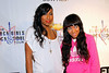 NEW YORK, NY - OCTOBER 13:  Melanie Fiona and Lil Mama attend the Black Girl Rock! & Soul concert at S.O.B.'s on October 13, 2011 in New York City.  (Photo by Steve Mack/S.D. Mack Pictures) *** Local Caption *** Melanie Fiona; Lil Mama