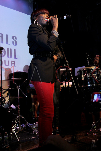 NEW YORK, NY - OCTOBER 13:  Estelle performs at the Black Girl Rock! & Soul concert at S.O.B.'s on October 13, 2011 in New York City.  (Photo by Steve Mack/S.D. Mack Pictures) *** Local Caption *** Estelle