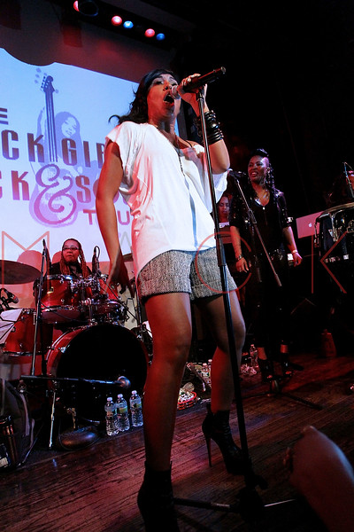 NEW YORK, NY - OCTOBER 13:  Melanie Fiona performs at the Black Girl Rock! & Soul concert at S.O.B.'s on October 13, 2011 in New York City.  (Photo by Steve Mack/S.D. Mack Pictures) *** Local Caption *** Melanie Fiona