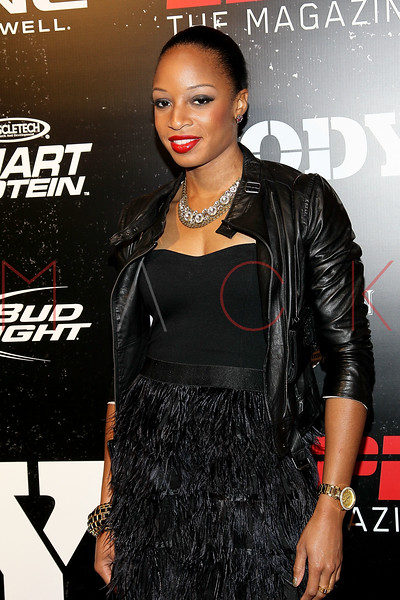 NEW YORK, NY - OCTOBER 06:  Natasha Hastings attends ESPN the Magazine's 3rd annual Body Issue party at Highline Stages on October 6, 2011 in New York City.  (Photo by Steve Mack/S.D. Mack Pictures) *** Local Caption *** Natasha Hastings