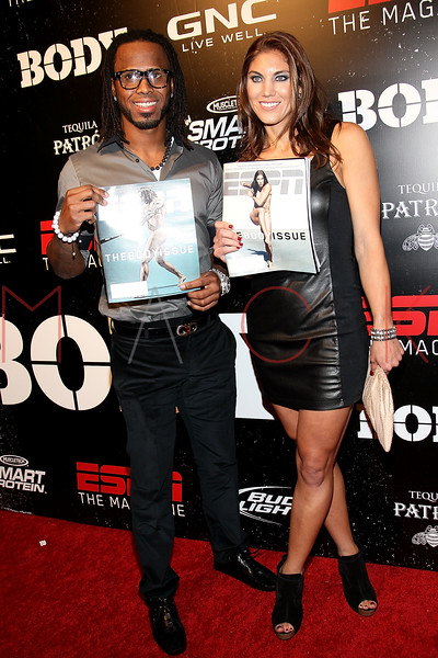 NEW YORK, NY - OCTOBER 06:  Jose Reyes and Hope Solo attend ESPN the Magazine's 3rd annual Body Issue party at Highline Stages on October 6, 2011 in New York City.  (Photo by Steve Mack/S.D. Mack Pictures) *** Local Caption *** Jose Reyes; Hope Solo