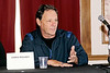 """panel discussing """"Independent Filmmaking: The Long And Short Of It"""" during the 2011 Atlantic City Cinefest, Atlantic City, USA"""