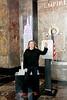 Kathleen Turner Lights The Empire State Building, New York, USA