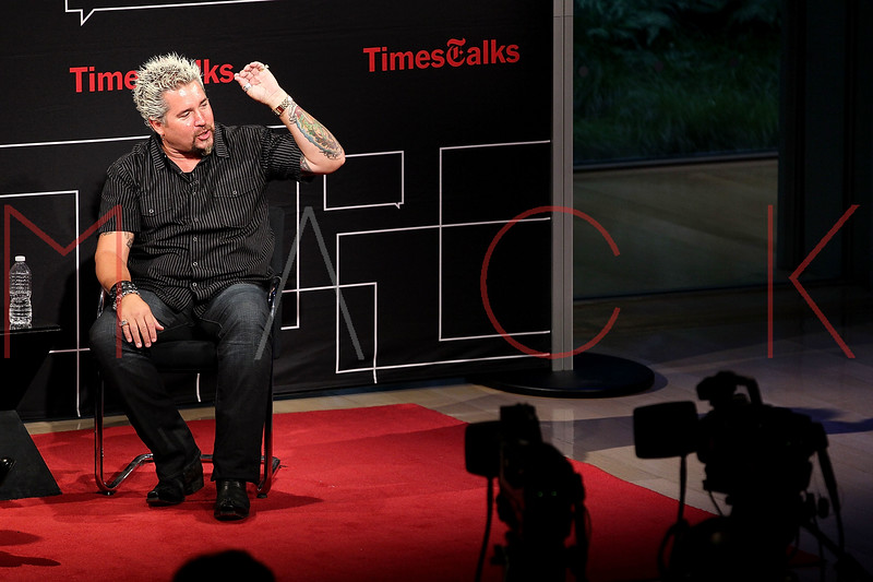 NEW YORK, NY - OCTOBER 01:  Author Guy Fieri attends a New York Time TimesTalks at The Times Center on October 1, 2011 in New York City.  (Photo by Steve Mack/FilmMagic) *** Local Caption *** Guy Fieri