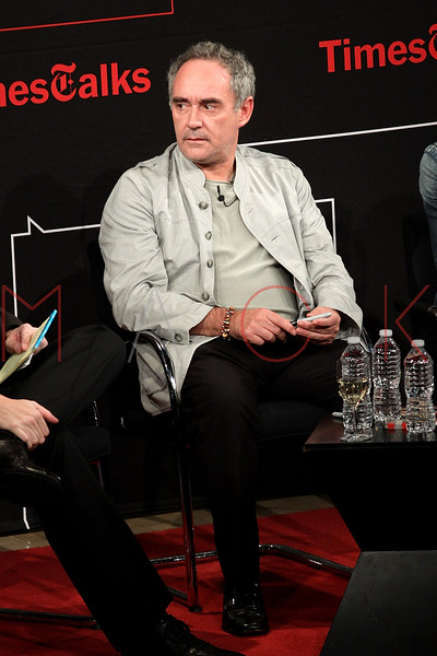NEW YORK, NY - OCTOBER 01:  Chef Ferran Adria attends a New York Time TimesTalks at The Times Center on October 1, 2011 in New York City.  (Photo by Steve Mack/FilmMagic) *** Local Caption *** Ferran Adria