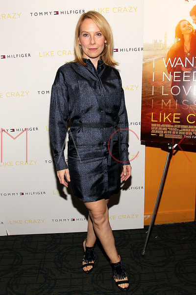 """NEW YORK, NY - OCTOBER 18:  Amy Ryan attends the """"Like Crazy"""" premiere at the Sunshine Landmark theater on October 18, 2011 in New York City.  (Photo by Steve Mack/S.D. Mack Pictures) *** Local Caption *** Amy Ryan"""