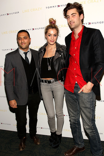 "NEW YORK, NY - OCTOBER 18:  Ben Pundole, Chelsea Leyland and Kyle Hotchkiss Carone attend the ""Like Crazy"" premiere at the Sunshine Landmark theater on October 18, 2011 in New York City.  (Photo by Steve Mack/S.D. Mack Pictures) *** Local Caption *** Ben Pundole; Chelsea Leyland; Kyle Hotchkiss Carone"