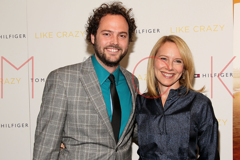"NEW YORK, NY - OCTOBER 18:  Drake Doremus and Amy Ryan attend the ""Like Crazy"" premiere at the Sunshine Landmark theater on October 18, 2011 in New York City.  (Photo by Steve Mack/S.D. Mack Pictures) *** Local Caption *** Drake Doremus; Amy Ryan"