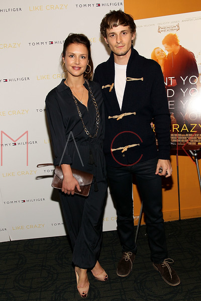 "NEW YORK, NY - OCTOBER 18:  Hannah Ware and Giles Matthey attend the ""Like Crazy"" premiere at the Sunshine Landmark theater on October 18, 2011 in New York City.  (Photo by Steve Mack/S.D. Mack Pictures) *** Local Caption *** Hannah Ware; Giles Matthey"