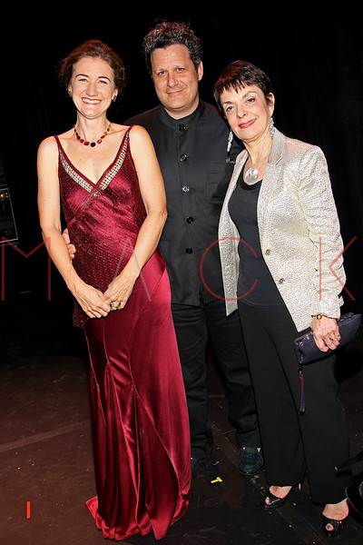 NEW YORK, NY - OCTOBER 17:  Cheryl Henson, Isaac Mizrahi and Cora Cahan attend The New 42nd Street Gala at the The New Victory Theater on October 17, 2011 in New York City.  (Photo by Steve Mack/S.D. Mack Pictures) *** Local Caption *** Cheryl Henson; Isaac Mizrahi; Cora Cahan