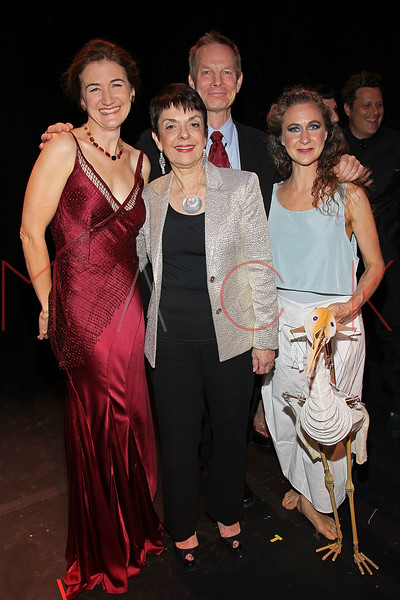 NEW YORK, NY - OCTOBER 17:  Cheryl Henson, Cora Cahan, Bill Irwin and Heather Henson attend The New 42nd Street Gala at the The New Victory Theater on October 17, 2011 in New York City.  (Photo by Steve Mack/S.D. Mack Pictures) *** Local Caption *** Cheryl Henson; Cora Cahan; Bill Irwin; Heather Henson
