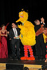 NEW YORK, NY - OCTOBER 17:  Cheryl Henson, John Tartaglia and Big Bird during the curtain call at The New 42nd Street Gala at the The New Victory Theater on October 17, 2011 in New York City.  (Photo by Steve Mack/S.D. Mack Pictures) *** Local Caption *** Cheryl Henson; John Tartaglia; Big Bird