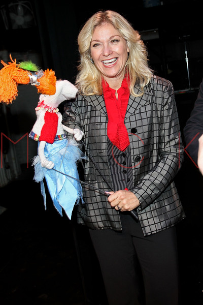 "NEW YORK, NY - OCTOBER 17:  Leslie Carrara-Rudolph from ""Sesame Street"" attends The New 42nd Street Gala at the The New Victory Theater on October 17, 2011 in New York City.  (Photo by Steve Mack/S.D. Mack Pictures) *** Local Caption *** Leslie Carrara-Rudolph"