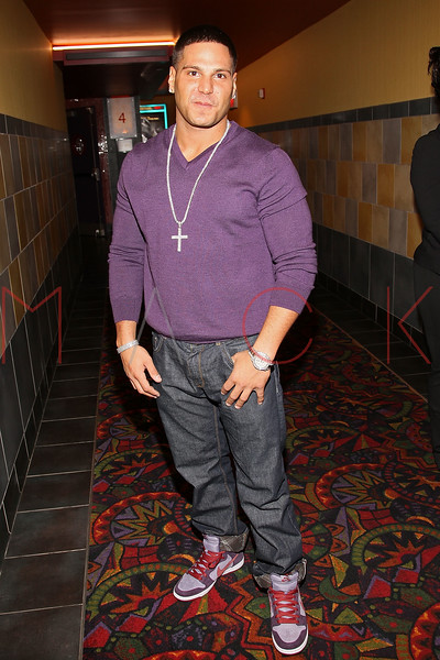 """NEW YORK, NY - OCTOBER 18:  Ronnie Ortiz-Magro attends the """"Paranormal Activity 3"""" super-fan screening at the Regal Union Square Theatre, Stadium 14 on October 18, 2011 in New York City.  (Photo by Steve Mack/S.D. Mack Pictures) *** Local Caption *** Ronnie Ortiz-Magro"""