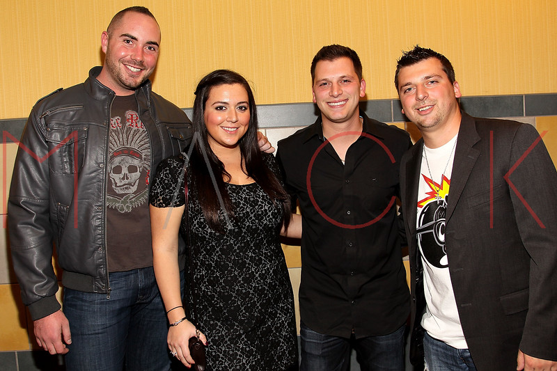 "NEW YORK, NY - OCTOBER 18:  Guest, Lauren Manzo, Albie Manzo and Chris Manzo attend the ""Paranormal Activity 3"" super-fan screening at the Regal Union Square Theatre, Stadium 14 on October 18, 2011 in New York City.  (Photo by Steve Mack/S.D. Mack Pictures) *** Local Caption *** Lauren Manzo; Albie Manzo; Chris Manzo"