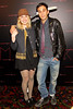 "NEW YORK, NY - OCTOBER 18:  Greta Gerwig and Co-director Ariel Schulman attend the ""Paranormal Activity 3"" super-fan screening at the Regal Union Square Theatre, Stadium 14 on October 18, 2011 in New York City.  (Photo by Steve Mack/S.D. Mack Pictures) *** Local Caption *** Greta Gerwig; Ariel Schulman"