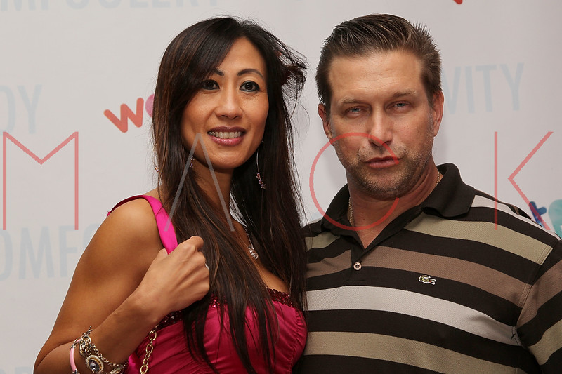 NEW YORK, NY - OCTOBER 05:  Stephen Baldwin (R) and Wendy Li attend Wetpaint Entertainment's one year anniversary party at Espace on October 5, 2011 in New York City.  (Photo by Steve Mack/S.D. Mack Pictures) *** Local Caption *** Wendy Li; Stephen Baldwin