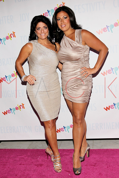 NEW YORK, NY - OCTOBER 05:  Kathy Wakile and Vanessa Strickland attend Wetpaint Entertainment's one year anniversary party at Espace on October 5, 2011 in New York City.  (Photo by Steve Mack/S.D. Mack Pictures) *** Local Caption *** Kathy Wakile; Vanessa Strickland