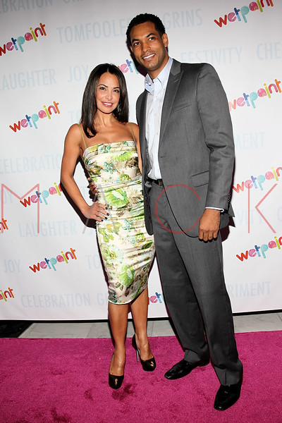 NEW YORK, NY - OCTOBER 05:  Joumana Kidd and Jabari Gray attend Wetpaint Entertainment's one year anniversary party at Espace on October 5, 2011 in New York City.  (Photo by Steve Mack/S.D. Mack Pictures) *** Local Caption *** Jabari Gray; Joumana Kidd